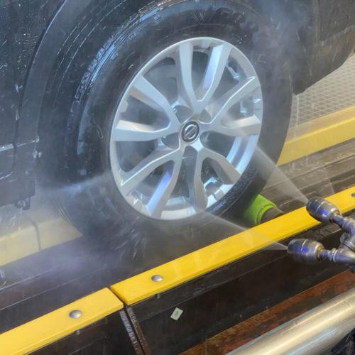 wheelblastIT spraying wheel